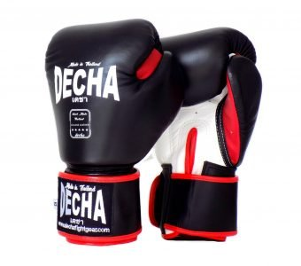 DECHA MUAY THAI STYLE BOXING GLOVES DBGVL2 LEATHER