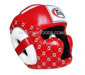 FAIRTEX SUPER SPARRING HEAD GUARDS HG10 RED