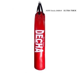 """NEW !! DECHA MUAY THAI BOXING PUNCHING BAG HEAVY DUTY 6ft RED ( UNFILLED ) """" ULTRA THICK """" PROFESSIONAL USE"""