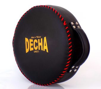 DECHA DONUT MUAY THAI BOXING STYLE LIGHT WHEEL PUNCHING PAD BLACK  DPD1