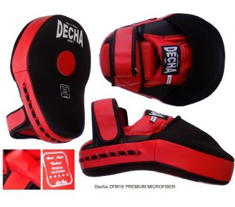 TOP KING EXTREME, FAIRTEX FMV13 DECHA FOCUS MITTS KICK PADS TWINS
