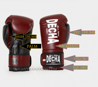 CUSTOM BOXING GLOVES - DECHA PRO PERFORMANCE 3.0 LEATHER