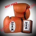 WINDY MUAY THAI BOXING GLOVES PRO SERIES GBP BROWN