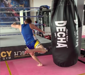 DECHA MONSTER WIDE HEAVY PUNCHING BAG  180 X 75 CM  (  UNFILLED ) DHBM 8 BLACK