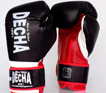 DECHA BOXING GLOVES 3.0 PRO PERFORMANCE DBGVL1 BLACK / RED / WHITE