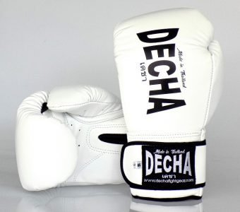 DECHA BOXING GLOVES PRO PERFORMANCE 3.0 WHITE