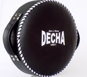 DECHA DONUT MUAY THAI BOXING STYLE LIGHT WHEEL PUNCHING PAD BLACK/white  DPD1